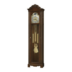 Howard Miller - Howard Miller Nicea Floor Clock In Saratoga Cherry Finish - Howard Miller - Floor Clocks - 611176