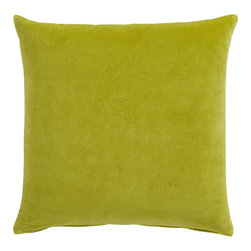 Leisure Sprout Pillow - A simple green pillow is a great way to add a punch of color.