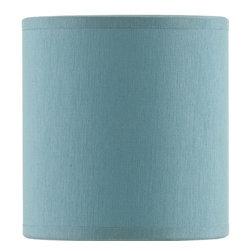 Currey & Company - Currey & Company Turquoise Shantung Shade CC-0446 - Currey & Company Turquoise Shantung Shade CC-0446