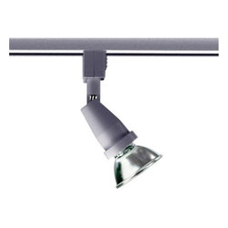 Juno Lighting - Trac 12 TL301 MR16 Universal Track Head, Tl301sl - Use the minimalist Universal series by itself for a do everything basic lampholder, or in combination with one of the scoop accessories for a playful metallic or colorful accent.