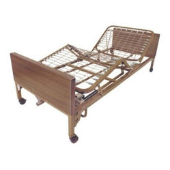 Drive Medical Electric Bed with Rails and Mattress