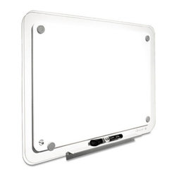 Quartet - Quartet 36 x 23 in. iQTotal Erase Board Multicolor - QRTTM3623 - Shop for Dry Erase Boards from Hayneedle.com! Communicate your ideas effectively by using the Quartet 36 x 23 in. iQTotal Erase Board. This set includes dry-erase marker tray and mounting hardware. The erase board comes with a high-tech frameless translucent-edge that allows maximum utilization of available space. High on style and utility this board has a translucent finish with a total erase surface that doesn t stain. For added convenience this board can be mounted horizontally or vertically to suit your need.About United StationersDedicated to making life in the office more organized efficient and easier United Stationers offers a wide variety of storage and organizational solutions for any business setting. With premium products specifically designed with the modern office in mind we're certain you will find the solution you are looking for.From rolling file carts to stationary wall files every product in the United Stations line is designed with one simple goal: to improve office efficiency. In turn you will find increased productivity happier more organized employees and an office setting that simply runs better with the ultimate goal of increasing bottom line profits.