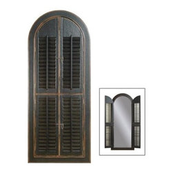 Bassett Mirror - Arched Shutter Mirror - Arched Shutter Mirror by Bassett Mirror