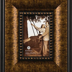 "Home Decorators Collection - Libson Picture Frame - A stunning interchange of bronze and black on our picture frame complements its detailing. The thin black inner border features bronze beading as well. Transform your walls or tables by adding this picture frame. Designed for vertical or horizontal display. Sit atop a table or hang on your wall. Small holds a 4"" x 6"" picture; medium holds a 5"" x 7"" picture; large holds a 8"" x 10"" picture."