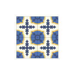 """Cruzada Especial"" 8x8 Encaustic Cement Tiles - ""Make every space Count"" with Rustico Tile and Stone, wholesale flooring, global shipping."