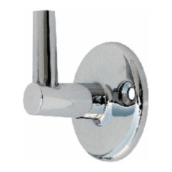 Renovators Supply - Shower Parts Chrome Shower Pin Bracket - Wall mount shower Pin Bracket: Mount this bracket to you shower wall. Swivels shower arm & holds it in place on the wall. Solid brass construction with chrome finish. Mounting screws not included.