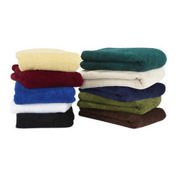 Towels By G.U.S. - Hotel Collection Cotton Bath Towel, Marine, Bath Towel - Wrap yourself in comfort with our Hotel Collection Bath Cotton Towel. These hotel style, 100% cotton towels are made in the good ol' USA, so you can feel good about your purchase. With a bevy of hues to choose from in a dramatic color palette, you are sure to find the perfect match to your bathroom. These towels are made with a sturdy single hem border and woven with medium length relaxed loop technology for maximum drying power.