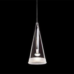 Flos - Flos | Fucsia One Light Suspension Lamp - Design by Achille Castiglioni, 1996.