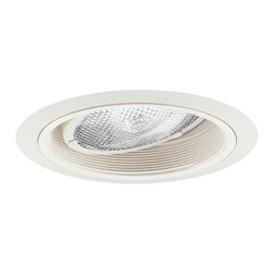 "Nora Lighting - Nora NL-672 6"" Baffle with Adjustable Gimbal Ring Trim, Nl-672w - 6"" Baffle with Adjustable Gimbal Ring Trim"