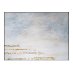 Bold Large Original Textured Acrylic Canvas Contemporary/Modern Painting - 36x48 - Large Abstract Canvas Acrylic White Painting