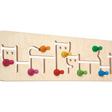 Eclectic Wall Hooks by Lil' Monkey Toys