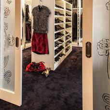 Contemporary Closet by Marks & Frantz Interior Design