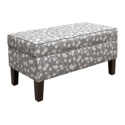 Home Decorators Collection - Custom Colton Upholstered Storage Bench - Our Custom Colton Upholstered Storage Bench is the perfect place to sit and tie your shoes, whether you place it in the bedroom, bathroom or entryway. Lift the seat for convenient hidden storage. Choose from a variety of beautiful, top-quality fabric options to create a piece that fits your personality and home decor style. Assembled to order in the USA and delivered in 4-6 weeks. Spot clean only. Some assembly required.