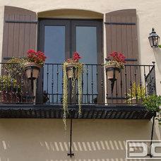 Mediterranean Windows And Doors by Dynamic Garage Door