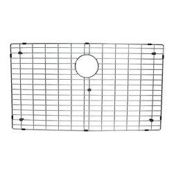 BOANN - BOANN Stainless Steel Grid for Single Bowl SKR3322 Sink - The BOANN BNG7845 is the grid for BOANN's SKR3322 farmhouse single sink. Made from Solid T202 stainless steel, the grid is 100% Lead free and will not oxidize or rust.