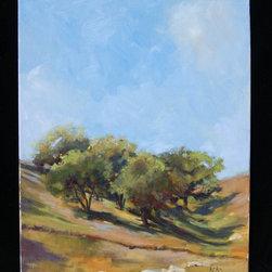 "Original Oils - Original oil painting of Julian Oaks. Completed 2011. Artist Rick Kelso. Unframed 16""x20"""