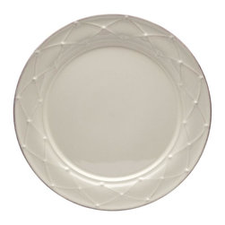Casafina - Round Salad Plate, Decorated - The Meridian stoneware collection offers a wide variety of dinnerware items as well as serving pieces.