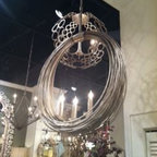 High Point Market 2013 - Our Buying team are finding great treasures at the Highpoint Furniture Market, great chandelier by Curry & Co.