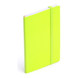 Soft Cover Notebook, Lime Green, Small - Make a list, check it twice, this little notebook will make you look oh-so-nice.