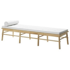 Modern Upholstered Benches by IKEA