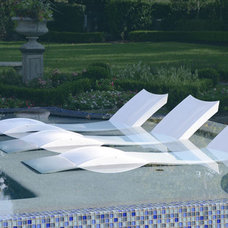 Modern Swimming Pools And Spas by Ledge Lounger LLC