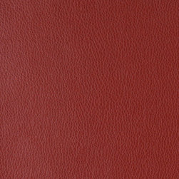 Red Upholstery Recycled Leather By The Yard - Recycled leather is a sustainable environmentally friendly alternative to leather and pvc. Recycled leather looks and feels like genuine leather, but is sold by the yard and easier to maintain. The backing of this pattern is a blend of genuine leather, and results in a soft and durable leather alternative. There are several grades of recycled leather materials, ours are top grade. This material is cleanable with mild soap and water.