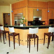 Contemporary Kitchen by Regina Garcia Design LLC