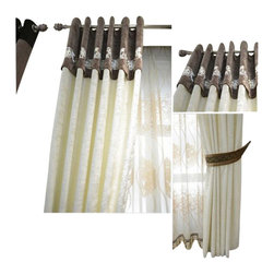 Ulinkly.com - luxury window curtain - MINIMALIST, 54*96, With Voile - Ulinkly is for affordable custom-made luxurious window curtains. We partner exclusively with top premium factories(top 1-2 sellers in international market) selling high-end custom-made curtains with top quality and hundreds high-end styles (Drapery, Voile and Valance) selection in North America.
