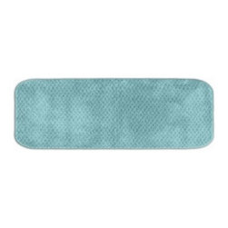 Signature 22 x 60 in. Bath Rug - A cool design that's sure to warm up your space - and your feet - the Signature 22 x 60 in. Bath Rug is a great finishing touch. This super soft bath rug is available in a variety of gorgeous colors, perfect for any bathroom. The colorfast design and ultra durable construction will keep your bath beautiful for years.About Garland SalesEstablished in 1974, Garland Sales, Inc. has grown as a leading manufacturer and supplier of a wide range of fashionable, tufted area rugs and decorator bath rugs. Operating in the heart of the carpet manufacturing industry in Dalton, GA, Garland Sales, Inc. continues to expand its product line through innovative product development and milestone merchandising techniques. Offered in a wide array of yarns, patterns, colors, weights, and backings, their products are sought after throughout the country. The colorfast designs, quality construction, and lasting beauty of a Garland Sales rug is a look and feel you'll love in your bathroom for years.