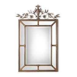 Uttermost - Uttermost 11201 B Le Vau Vertical Silver Mirror - Uttermost 11201 B Le Vau Vertical Silver Mirror