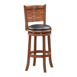 "Boraam - Boraam Sumatra 29"" Swivel Bar Stool in Brush Oak - Boraam - Bar Stools - 41029 - Boraam's high quality products are well styled and priced right. Benefitting from years of experience in the industry. Boraam knows what you look for in quality furniture and takes pride in getting orders out as diligently as possible. Feel confident that Boraam will take your living space to another level."