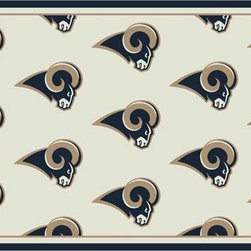 Milliken & Company - St. Louis Rams Rectangular: 5 Ft. 4 In. x 7 Ft. 8 In. Rug - -Rich Team Colors, Diversity of NFL Designs,Stainmaster Treatment 10 year wear warranty  -Tufted  -Incorporates AlphaSan Antimicrobial  Milliken & Company - P533321-C01086-S201