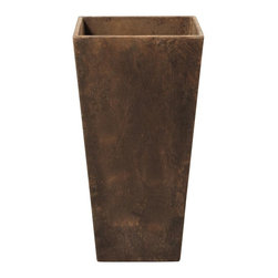 Home Decorators Collection - Ella Tall Planter - I think these tall copper planters would be so pretty with some topiaries. I love mixing greenery with copper.