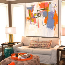 Eclectic Living Room by d2 interieurs