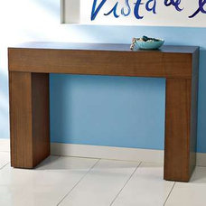 Contemporary Side Tables And End Tables console table