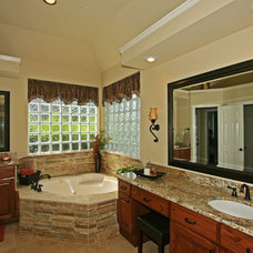 Traditional Bathroom by Nicole Arnold Interiors
