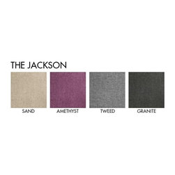 "Apt2B - The Jackson Apt. Size Sofa, - Request A Sample of Fabric Swatches -, 53"" X 36"" X - The Jackson brings some much needed romance into any space. The rolled back with detailed tufting and swoop arms gives really interesting lines to a boxy room and can be that star every home needs."