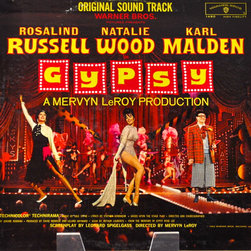 "Adonis Collection - Adonis Collection | Framed Album, Hollywood - Motion picture soundtrack, ""Gypsy."" The film starred Natalie Wood, Rosalind Russell, and Karl Malden. Released in 1962 on Warner Bros. Records."