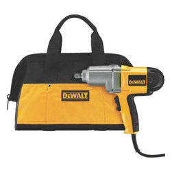 "Dewalt - 1/2"" Impact Wrench With Box - DEWALT DW292K 1/2-Inc (13 mm) impact wrench gets the job done with 345 ft-lbs of deliverable torque in forward and reverse."