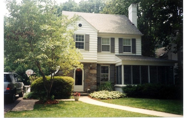 Before After Two Story Colonial Makeover In Bethesda Md
