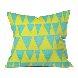 Nick Nelson Analogous Shapes With Gold Outdoor Throw Pillow - Do you hear that noise? It's your outdoor area begging for a facelift and what better way to turn up the chic than with our outdoor throw pillow collection? Made from water and mildew proof woven polyester, our indoor/outdoor throw pillow is the perfect way to add some vibrance and character to your boring outdoor furniture while giving the rain a run for its money.