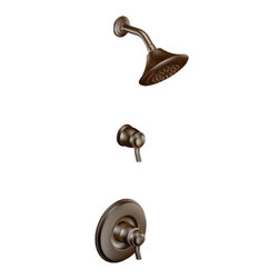 Moen - Moen TS8115ORB Exacttemp Shower Only Finish Trim - The Rothbury series features a relaxed blend of vintage design and traditional elements that coordinate perfectly with both casual and luxurious decorating.
