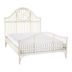 Cassia Rattan Bed - This is a modern take on an antique Chinese daybed.