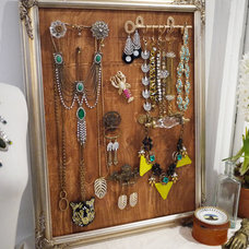 Eclectic Jewelry Boxes And Organizers DIY Jewelry Display with Lulu Frost