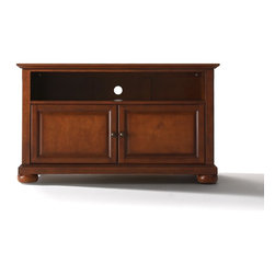 "Crosley - Alexandria 42"" TV Stand - Dimensions:  18 x 42 x 24 inches"