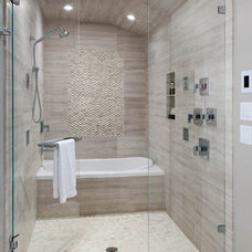 Modern Tile by Housetrends Magazine