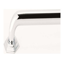 Alno Inc. - Alno Creations Nicole Grab Bar Brackets Only Polished Chrome A7724-Pc - Alno Creations Nicole Grab Bar Brackets Only Polished Chrome A7724-Pc