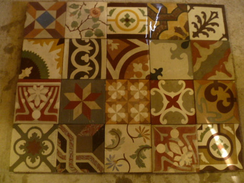 old spanish patterned cement tiles these tiles can use for any kitchen