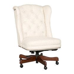 Hooker Furniture - Hooker Furniture Executive Swivel Tilt Chair EC401-080 - Hooker Furniture Executive Swivel Tilt Chair EC401-080