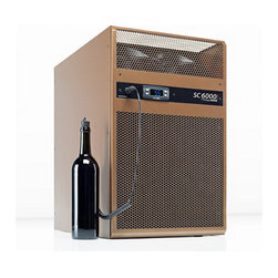 WhisperKOOL - WhisperKOOL SC 6000i Cooling Unit - Don't sweat your cellar! This cooling unit installs in the wall and boasts anti-frost and defrost features for worry-free wine protection.